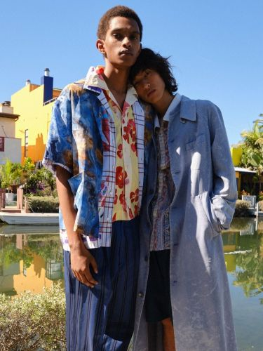 The Bohemian Spirit: Matthew & David for MatchesFashion