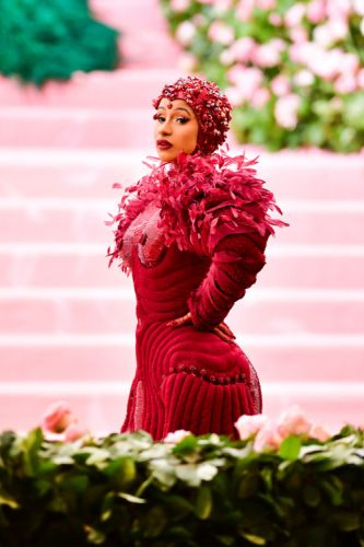 Cardi B's Massive Met Gala Gown Needed Its Own 10-Person