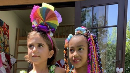 North West and Penelope Disick Had the Sweetest Joint 'Candy Land' Birthday Party!