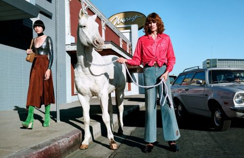 Gucci's Surreal New Campaign Sees Horses Walk the Streets of LA
