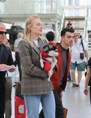 On Their Way! Sophie Turner and Joe Jonas Head to the South of France for Wedding No. 2
