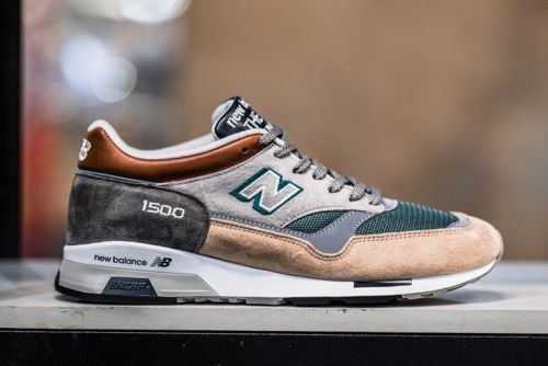 New Balance & 43einhalb's 1500 Collab Was Inspired by the Most Striking English Locales
