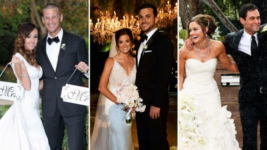 'Bachelor' Weddings: The Most Beautiful Photos of TV Couples Who Tied the Knot