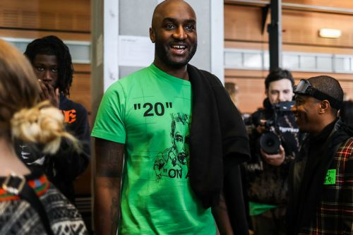 Virgil Abloh Teases Off-White™ x BAPE Sneaker at LV Fashion Show