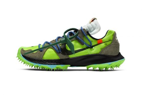 "Take an Official Look at the Off-White™ x Nike Zoom Terra Kiger 5 ""Athlete in Progress"""