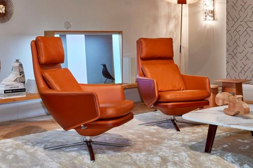 VITRA Introduces Grand Relax Lounge Chair by Antonio Citterio