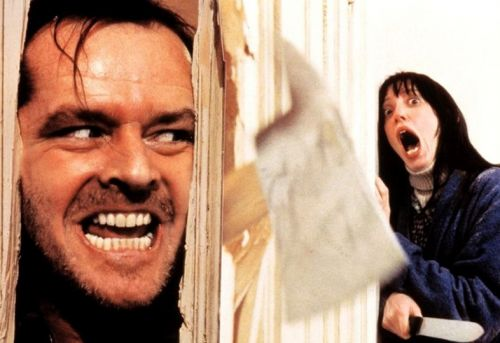 Watch Jack Nicholson prepare for The Shining's axe scene in this video