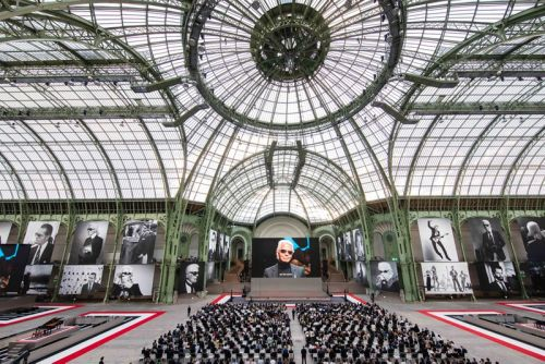 Chanel and Fendi Honor Karl Lagerfeld With Star-Studded Memorial Ceremony