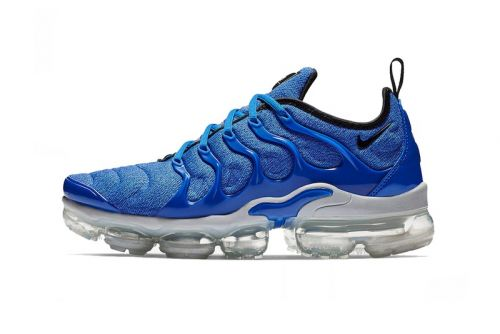 """The Latest Nike Air VaporMax Plus Receives a """"Game Royal"""" Treatment"""