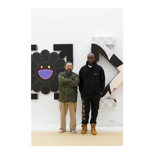 We Speak To Virgil Abloh About His Latest Collaboration With Takashi Murakami For London's Gagosian