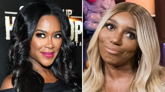 Hey, NeNe? Kenya Moore Reportedly DGAF About Your Baby Photo Diss