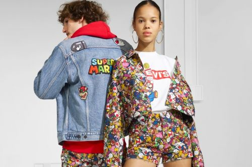 The 'Super-Mario'-Themed Nintendo x Levi's Collection is Now Available