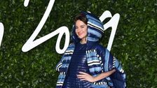 Shailene Woodley Wore An Outrageous, Oversize Sleeping Bag On The Red Carpet