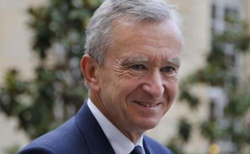 LVMH Chairman Bernard Arnault is now the world's second wealthiest individual