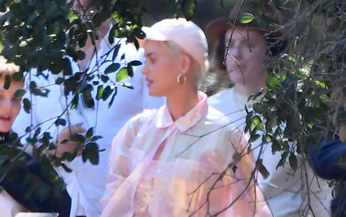 Katy Perry and Fiancé Orlando Bloom Attend Kanye West's Sunday Church Service - See Pics!