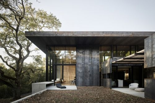Faulkner Architects' Stunning Miner Road House Lionized in 'Masterpiece Series' Book