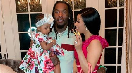 Cardi B Shares the Sweetest Family Photo With Hubby Offset and Daughter Kulture