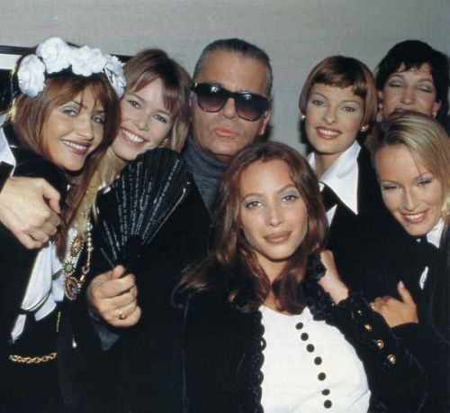 In commemoration of Karl Lagerfeld