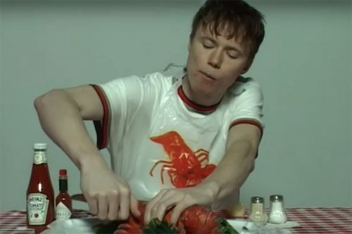 "Liam Hodges Pays Homage to Las Vegas All-You-Can-Eat Buffets in ""Lobster"" Capsule Collection"