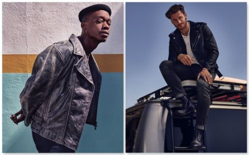 Ashton Sanders & Philippe LeBlond Front 7 For All Mankind Fall '18 Campaign