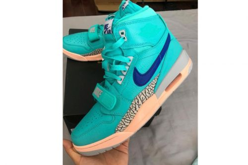 "A First Look at Don C's Jordan Legacy 312 ""Hyper Jade"""