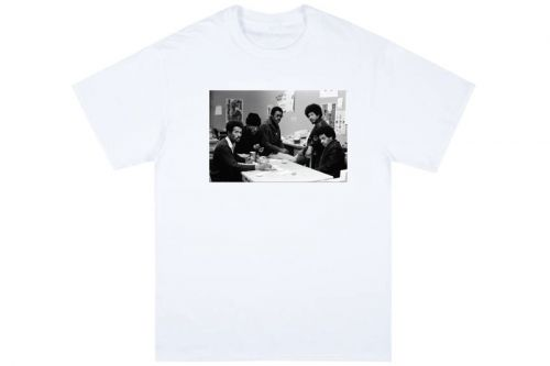 Rare Malcolm X and Black Panther Photographs Grace Public School's Charitable T-Shirt Capsule