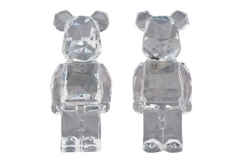 Medicom Toy Signs on fragment design & Baccarat for Geometric Crystal BE RBRICK