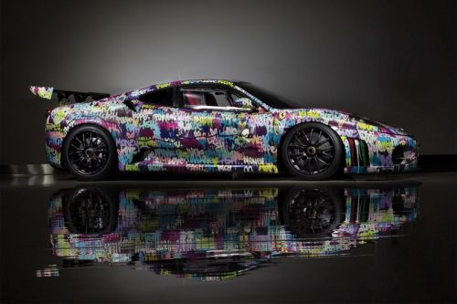 This Ferrari F430 Challenge Art Car is Being Auctioned for $160,000 USD