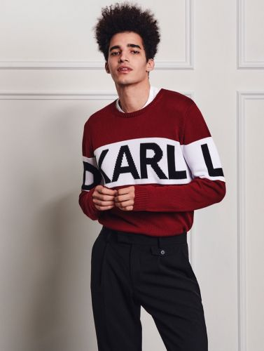 Luis Borges Sports Karl Lagerfeld Fall '19 Collection