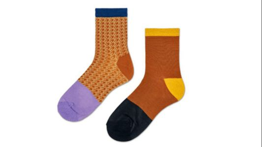 Dara Can't Face Fall Without These Incredibly Soft, Color-Blocked Socks