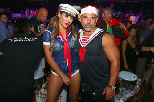 Married Cuties Melissa Gorga and Husband Joe Wear Matching Sailor Costumes at a Halloween Bash