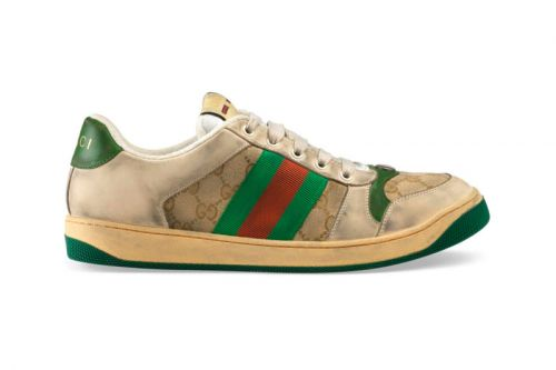 Gucci's New Vintage Sportswear-Inspired Dirty Sneakers Cost $870 USD
