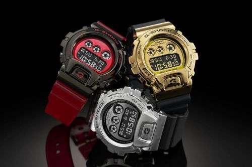 G-SHOCK Introduces New GM-6900 Metal Bezel Watch to Commemorate 25th Anniversary