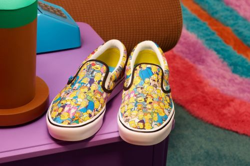 Vans Looks Back at 30 Years of 'The Simpsons' With New Collaboration