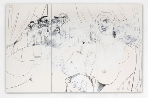 Simon Lee Gallery to Display Naturalistic Paintings by George Condo, Holly Coulis & More