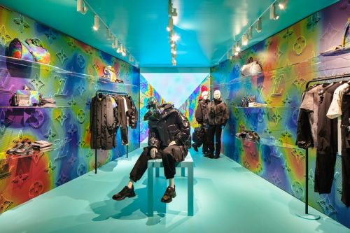 Louis Vuitton Launches Pop-Up Residency for 2054 Collection