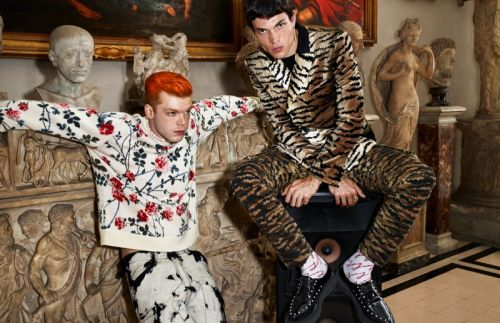 Cameron Monaghan & Luka Isaac Travel to Rome for Giambattista Valli x H&M Campaign