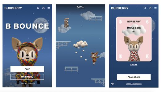 Burberry Get into E-Sports as They Release B Bounce, Their First Online Game