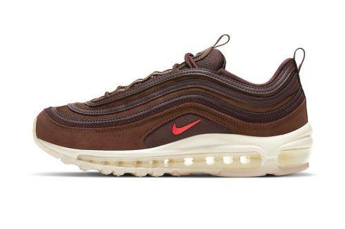 """Nike's Latest Air Max 97 Is Steeped In a Rich """"Coffee"""" Colorway"""