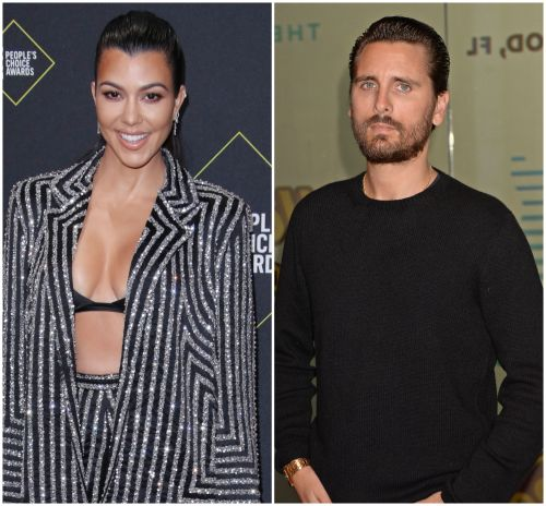 Kourtney Kardashian Teases Romance Rumors With Scott Disick By Sharing Cute Throwback 'KUWTK' Photo