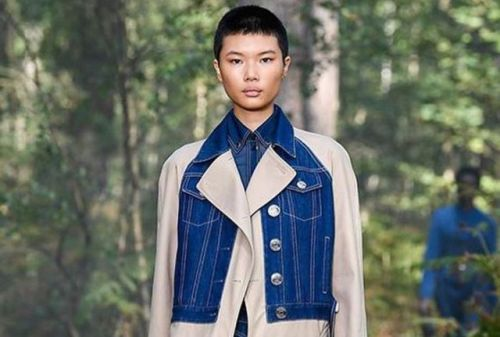 Meet the Buzzcut Beauty Who Debuted Opening Burberry