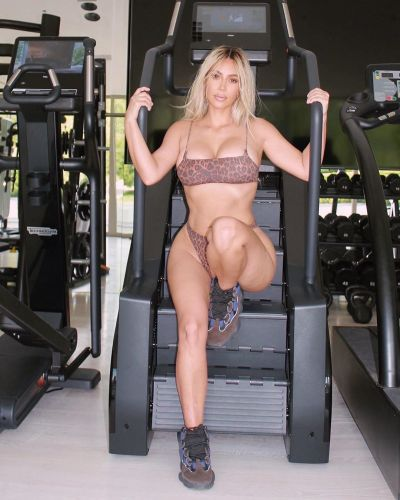 Kim Kardashian Shares Circuit From the 'Hardest' Workout of Her 'Life'