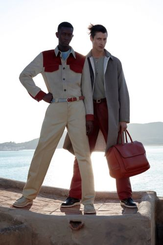 Jonas Mason & Oumar Diouf Inspire in Salvatore Ferragamo Pre-Spring '20 Collection