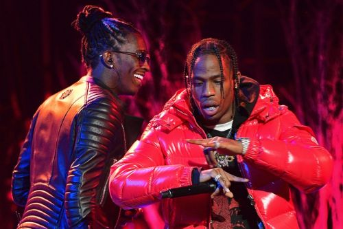 "Young Thug & Travis Scott Show off Their Vocal Prowess On ""Me or Us"" Remix"