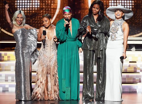 Michelle Obama Stole the Show at the GRAMMYs