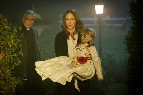 Campy 'Annabelle Comes Home' barely conjures a movie
