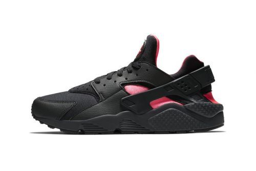 "Nike's Air Huarache Channels Air Yeezy ""Blink"" Colors"