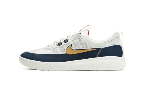 "Nyjah Huston's Nike SB Nyjah Free 2 Drops in ""Obsidian/Club Gold"""