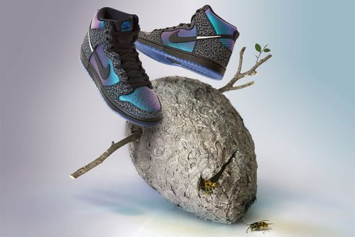 "Black Sheep Skate Shop Connects With Nike SB for ""Hornets"" Themed Dunks"