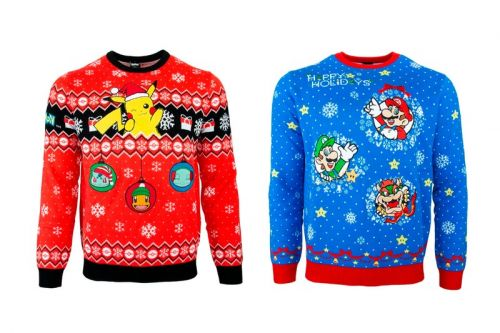 Celebrate the Festive Months With Nintendo's Official Christmas Sweaters